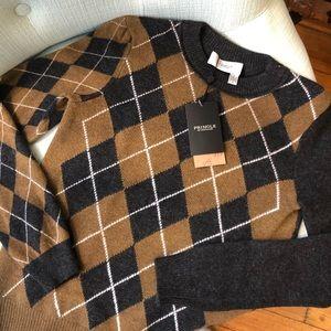 Pringle of Scotland Cashmere Argyle Sweater | NWT